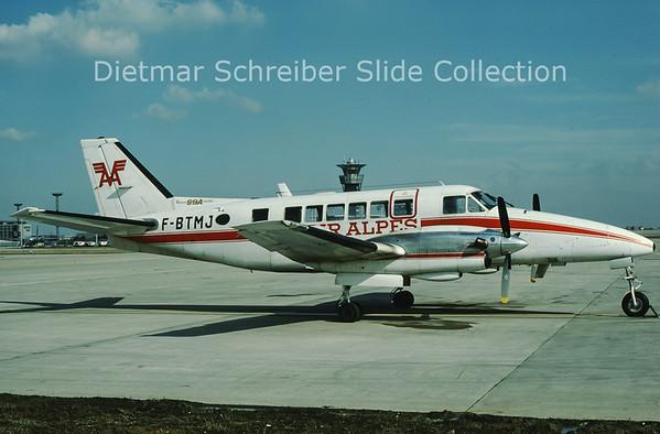 1979-05 F-BTMJ Beech 99 (c/n U-129) Air Alpes