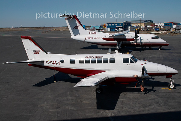 2009-05-31 C-GASW Beech 99 Arctic Sunwest