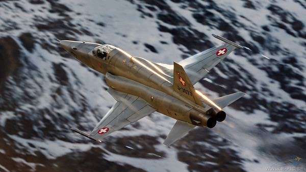 Northrop F-5E Tiger II, Switzerland