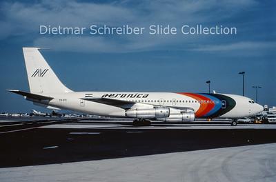 YN-BYI Boeing 707-051B (c/n 18688) Aeronica