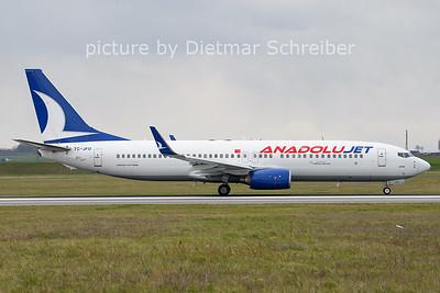 2021-04-14 TC-JFD Boeing 737-800 ANadolujet