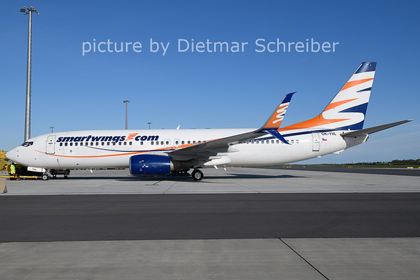 2021-05-06 OK-TVL Boeing 737-800 Smartwings