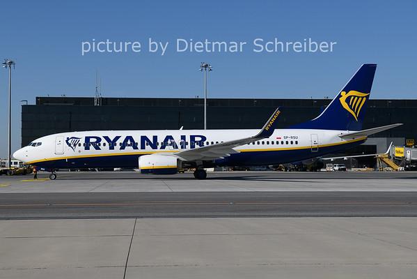 2021-06-01 SP-RSU Boeing 737-800 Ryanair