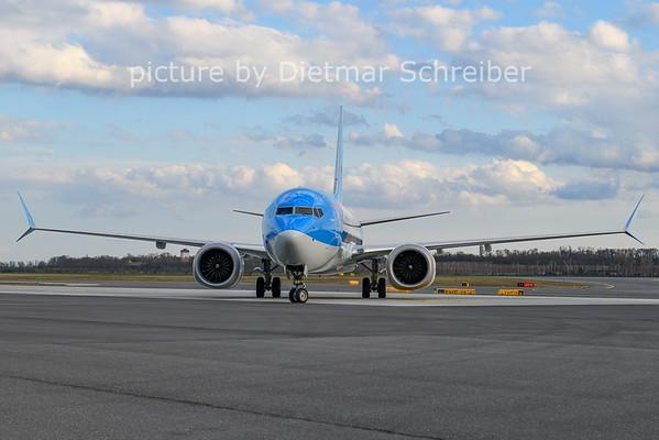 2021-03-28 PH-TFP Boeing 737-800max Tuiflly