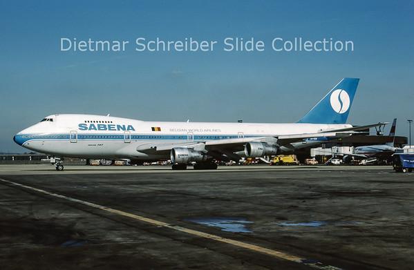 OO-SGB Boeing 747-129A (c/n 20402) Sabena