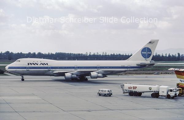 N734PA Boeing 747-121A (c/n 19641) Pan American