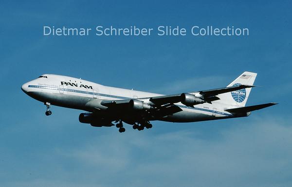 N659PA Boeing 747-121 (c/n 20354) Pan American