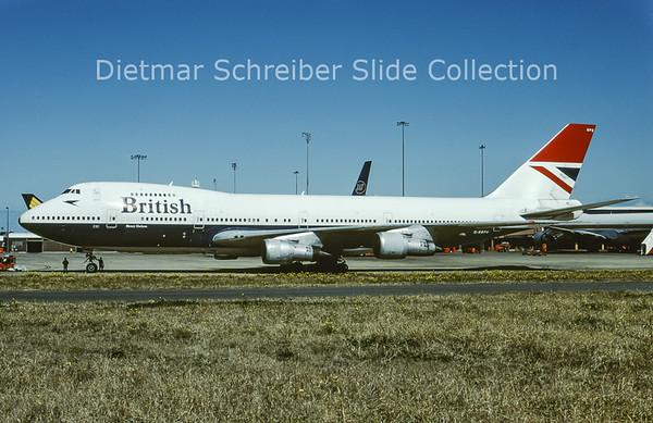 1984-09 G-BBPU Boeing 747-136 (c/n 20953) British Airways