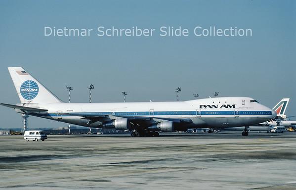 N725PA Boeing 747-100 Pan American