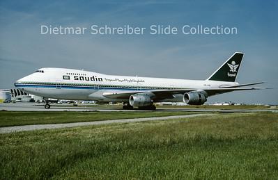 1994-05 HZ-AIB Boeing 747-168B (c/n 22499) Saudia