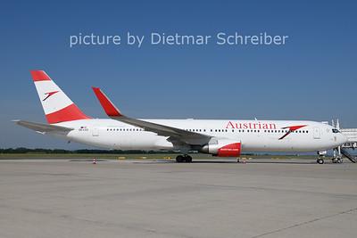 2021-06-07 OE-LAZ Boeing 767-300 Austrian AIrlines