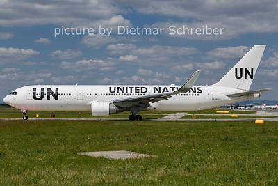 2021-06-01 ET-ALJ Boeing 767-300 Ethiopian AIrlines / United Nations