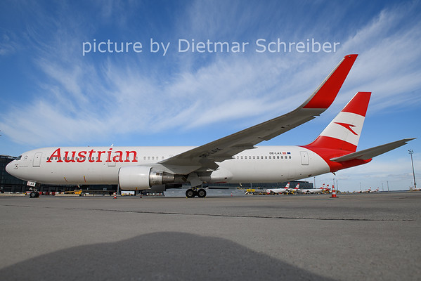 2021-04-11 OE-LAX Boeing 767-300 Austrian Airlines