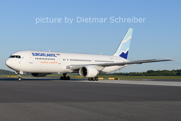 2021-05-21 CS-TKS Boeing 767-300 Euroatlantic
