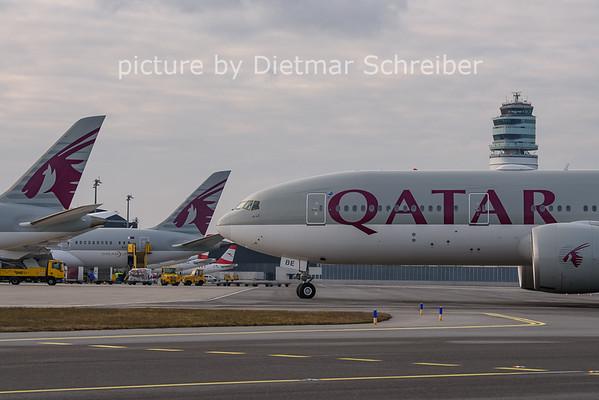 2021-01-31 A7-BBE Boeing 777-200 Qatar Airways