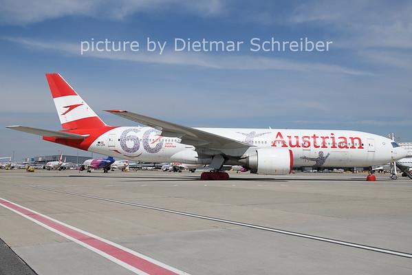 2021-04-12 OE-LPF Boeing 777-200 Austrian Airlines