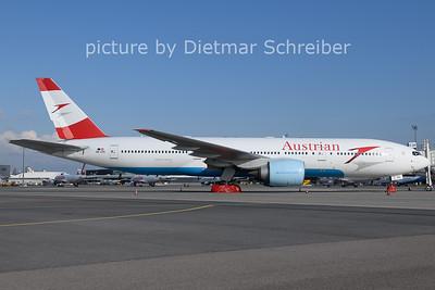 2021-03-17 OE-LPC Boeing 777-200 Austrian Airlines