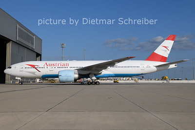2021-08-25 OE-LPC Boeing 777-200 Austrian AIrlines