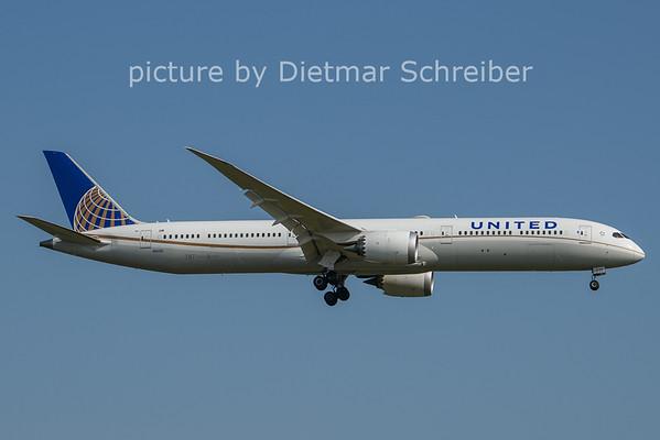 2021-07-22 N14001 Boeing 787-10 United AIrlines