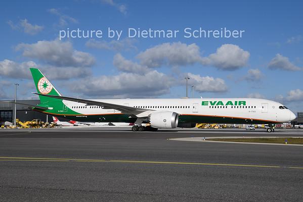2020-11-20 B-17801 Boeing 787-10 Eva Air