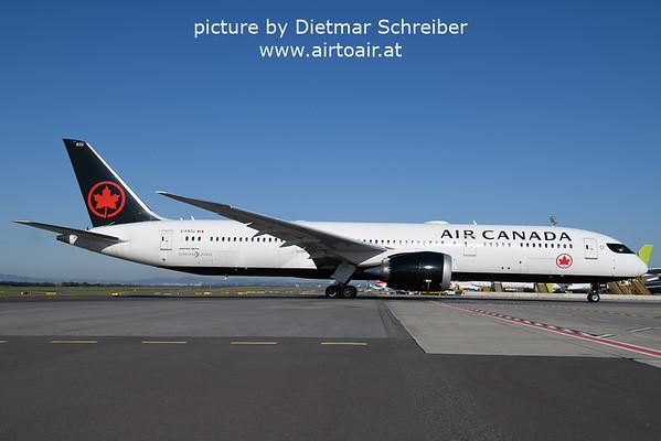 2021-09-09 C-FRTU Boeing 787-9 Air Canada