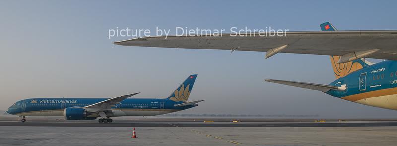 2021-02-25 VN-A863 Boeing 787-9 Vietnam Airlines