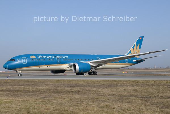 2021-02-24 VN-A863 Boeing 787-9 Vietnam Airlines