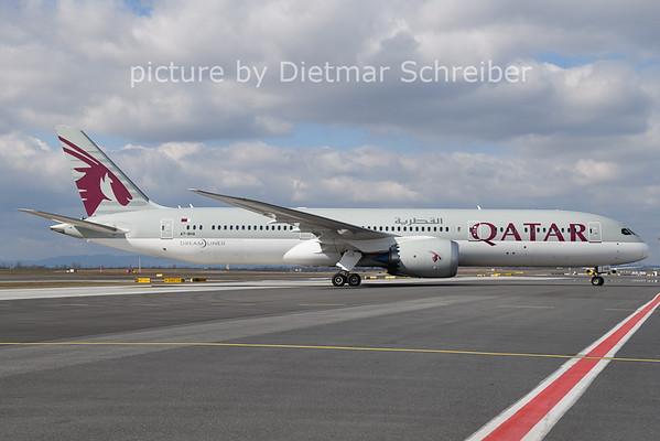 2021-03-17 A7-BHA Boeing 787-9 Qatar Airways