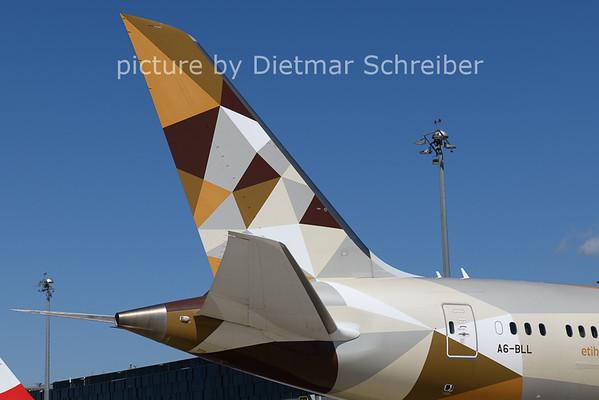 2021-07-29 A6-BLL Boeing 787-9 Etihad