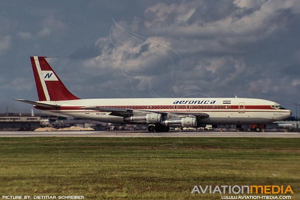 1991-09 YN-CDE Boeing 707-100 Aeronica
