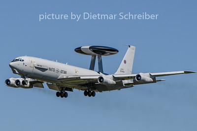 2020-08-05 LX-N90456 Boeing E3A AWACS NATO