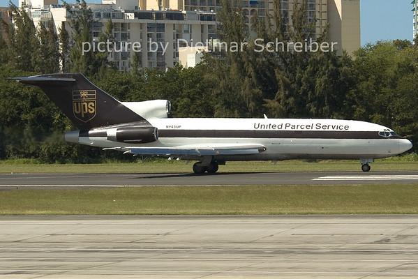 2006-02-24 N945UP Boeing 727-100 UPS