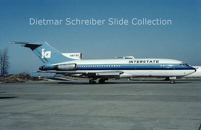1984-12 N8175G Boeing 727-100 Interstate