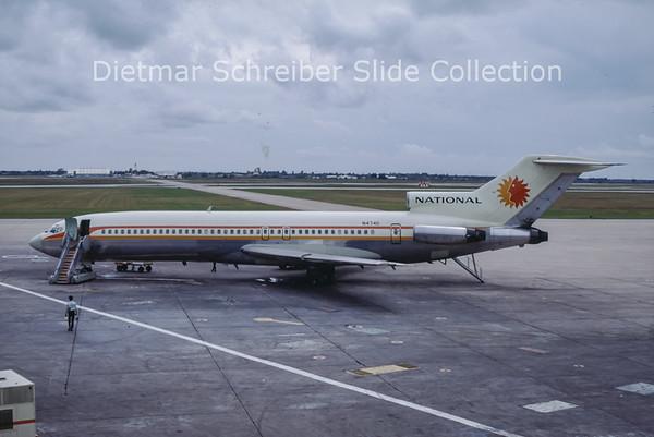1968-10 N4740 Boeing 727-235 (c/n 19460) National Airlines