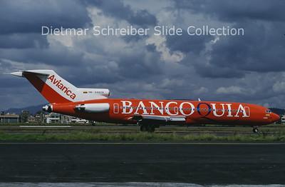 1997-02 HK-3480X Boeing 727-2H3 (c/n 20739) Avianca Colombia