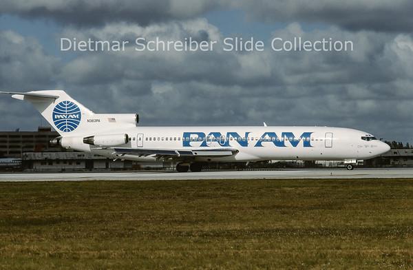 1998-12 N363PA Boeing 727-200 Pan American