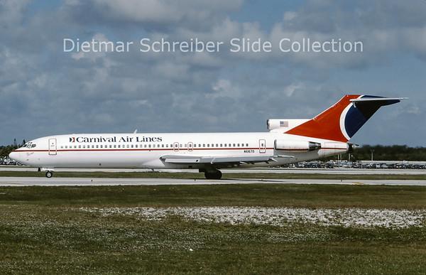 1994-12 N6167D Boeing 727-282 (c/n 22430) Carnival Airlines