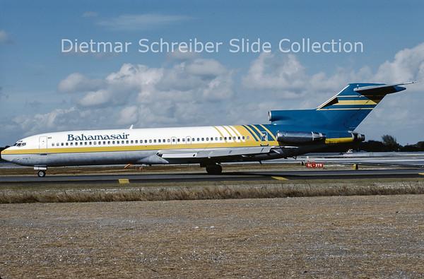 1990-01 N8876Z Boeing 727-225 (c/n 21449) Bahamasair