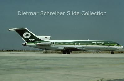 1982-08 YI-AGQ Boeing 727-270 (c/n 22261) Iraqi Airways