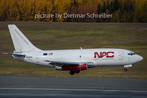 2018-09-26 N320DL Boeing 737-200 Northern Air Cargo