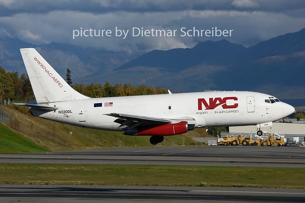 2018-09-22 N320DL Boeing 737-200 Northern Air Cargo