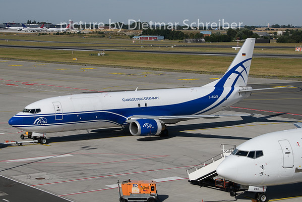 2020-08-06 D-ACLW Boeing 737-400 Cargo Logic Germany