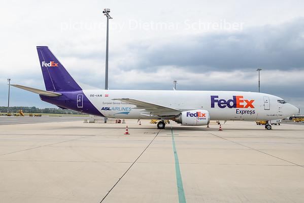 2020-08-14 OE-IAR Boeing 737-400 Fedex / ASL Airlines