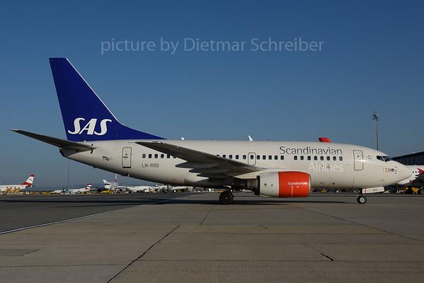 2017-08-01 LN-RRD Boeing 737-600 SAS