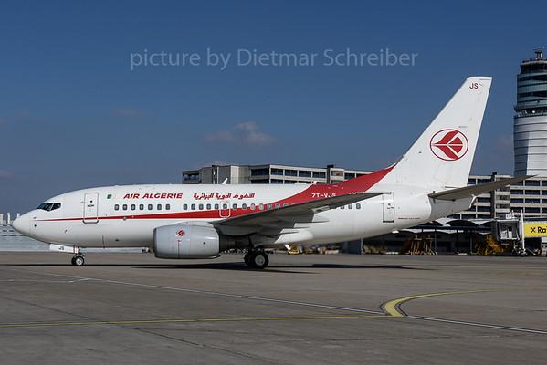2017-03-08 7T-VJS Boeing 737-600 Air Algerie