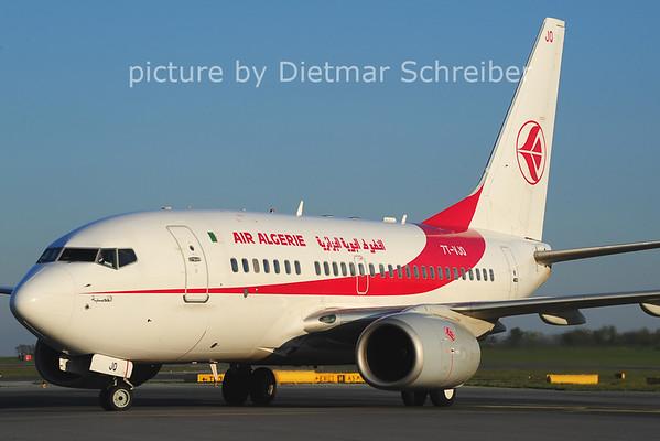 2014-04-16 7T-VJQ Boeing 737-600 AIr Algerie