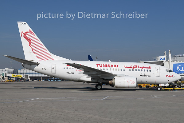 2019-02-19 TS-IOM Boeing 737-600 Tunis Air