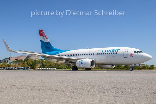 2020-08-07 LX-LGS Boeing 737-700 Luxair