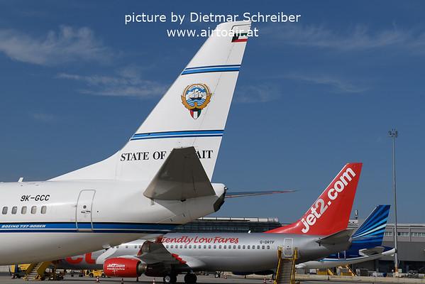 2021-09-07 9K-GCC Boeing 737-900 Kuwait Government