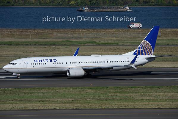 2018-10-02 N66848 Boeing 737-900 United AIrlines